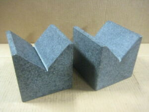 Granite Precision Vee Block 6x6x6 Pair