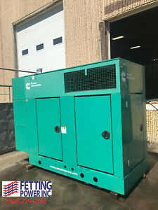 New 40kw Cummins Stationary Diesel Generator Dghcc 120 208 S n F130520944