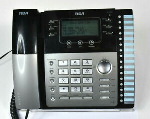 Clean Rca Visya Business 4 Line Phone With Caller Id 2542re1 Tested