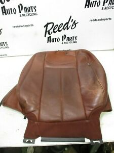 2007 2014 Ford Expedition King Ranch Front Driver Left Brown Leather Back Oem