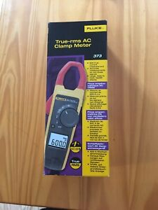Fluke 373 Brand New True Rms 600v Ac dc Clamp Meter