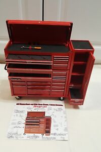 Snap On Minature Collectible Tool Box Coin Bank Vintage Coin Bank New In The Box