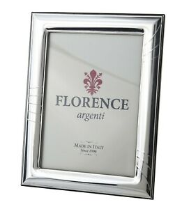 Silver Sheet Photo Picture Frame Handmade 1004 13 18 Gb New