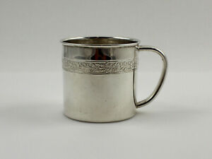 Towle 79131 Sterling Silver Baby Cup 2 1 4 No Monogram