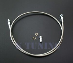 Braided Stainless Steel Clutch Line For Honda Civic 1992 00 acura Integra 94 01