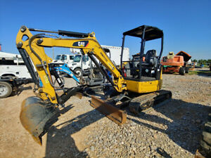 2015 Caterpillar 303e Excavator Mini Ex Trackhoe 925hrs 24hp 6221weight Used