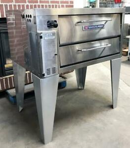 Bakers Pride 151 Bakery Restaurant Equipment Single Deck Natural Gas Pizza Oven