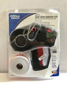 Office Depot Od101 Single line 8 character Price Label Gun