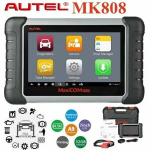 Autel Maxicom Mk808 Obd2 Scanner Diagnostic Auto Obd Automotive Code Reader Immo
