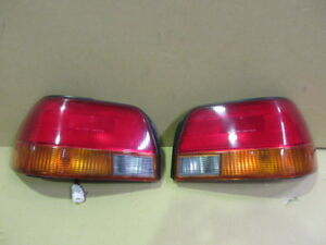 Jdm 95 97 Toyota Corolla Ae110 Taillights Tail Lights Lamps Oem