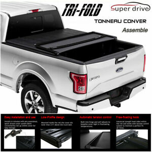 2007 2013 Chevy Silverado 1500 6 5ft Bed Soft Assembly Tri Fold Tonneau Cover