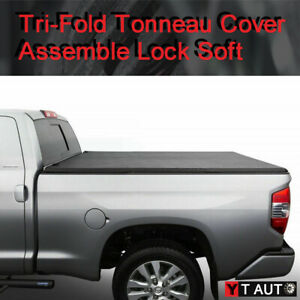 2007 2013 Chevy Silverado 5 8 Bed Vinyl Soft Assembly Tri Fold Tonneau Cover
