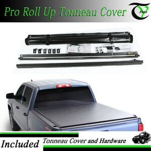Fits 2016 2019 Toyota Tacoma 6 Ft 72 Bed Vinyl Roll Up Tonneau Cover