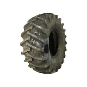 23 1x26 Galaxy Otr Tire R 1 Rear Tractor F 12 Ply Used 46 32 Blemished Repair