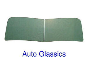 1949 1950 1951 1952 1953 Studebaker R Pickup Truck 2pc Windshield Clear Or Green