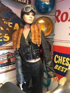 Vintage Female Life Size Mannequin Display With Stand