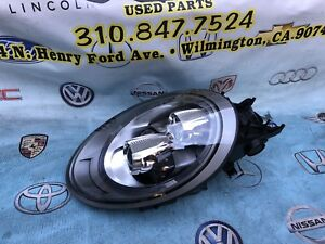 2015 2016 2017 2018 Porsche Carrera 911 Gt3 Lh Left Led Headlight Xenon Shell