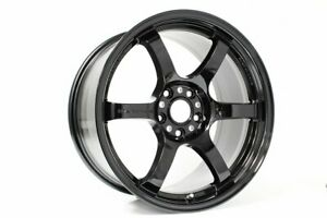 Rays Gram Lights 57dr 17x9 38 5x100 In Glossy Black Wgiq38dgx