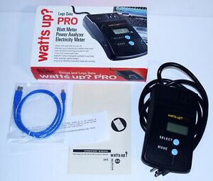 Watts Up Pro Portable Power Meter Open Box Power Analyzer Electricity Meter W ma
