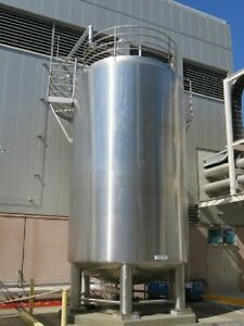 16 000 Gallon 316 Stainless Steel Insulated Sanitary Tank