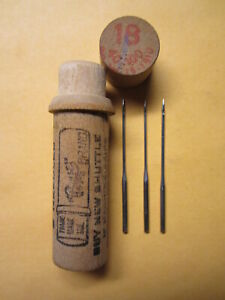Boye Wheeler Wilson D9 Singer 9w 127x1 Sewing Machine Needles W9