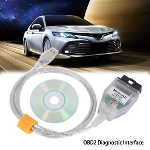 Mini Vci Usb Interface Obd2 Diagnostics Cable For Toyota Lexus Tis Techstream