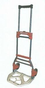 Milwaukee Folding Two Wheeled Hand Truck Portable Carrier Tool free Shipping