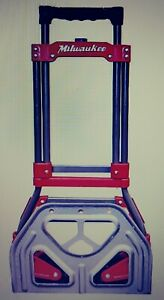Milwaukee Folding Hand Truck Portable Luggage Carrier Tool free Shipping
