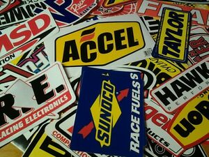 Lot 20 Racing Decals Stock Car Nascar Dragster Stickers Street Outlaws Msd Je