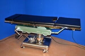 Amsco 1080 Surgical Operating Table Premium Condition See Pics