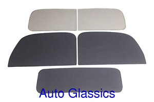 1946 1947 Ford Pickup Truck Complete Flat Glass Kit New Replacement Windows