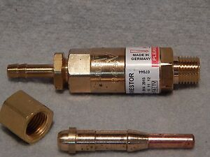 Hho H2 Flashback Arrestor Filter 5 Injectors As Torch Gun Made In Germany
