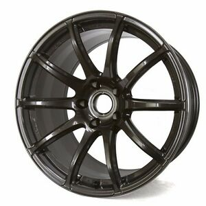 Rays Gram Lights 57transcend 18x9 38 5x100 Super Dark Gunmetal Wgtrw38dh8