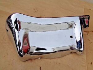 Nos 1963 Chevy Impala Left Rear Bumper End Original Gm Bel Air
