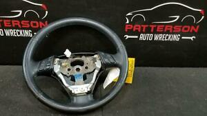 2006 Mazda 3 Leather Wrapped Steering Wheel W Accessory Controls And Weather