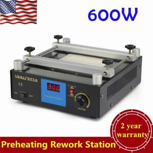Bga Infrared Rework Electronic Hot Plate Preheat Preheating Station 110v New