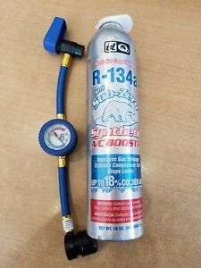 Id Quest Auto Air Conditioning R 134a Synthetic A C Booster Can W Hose