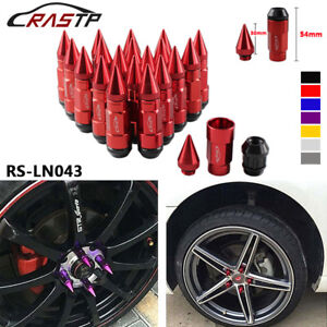 20 Anti Theft Wheel Lug Nuts With Spike Extended Tuner Nut For Rims M12x1 5 1 25