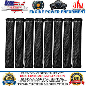 2500 Spark Plug Wire Boots Sleeve Heat Shield Cover Protector For Ls1 Ls2 Ls4 6