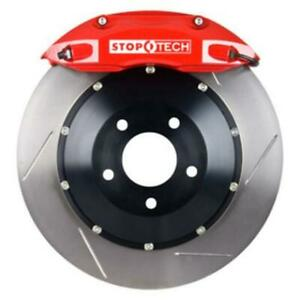 Stoptech St83 429 4300 71 For Honda S2000 Red Calipers Front Slotted Rotors