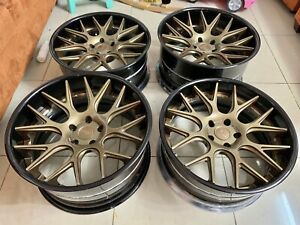 Niche Wheels 3 Piece Series A300 Circuit 20 Staggered Fit Bmw 5x120
