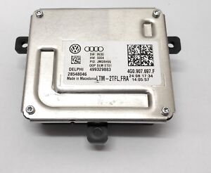 Delphi Led Modul Unit Ecu Ballast Vw Audi Tfl 4g0907697f Original