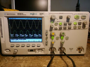 Agilent Mso6012a 2 Channel 100mhz 2gsa s Mso Oscilloscope With Probes Tested