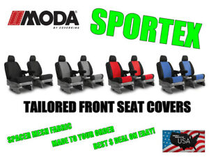 Coverking Moda Sportex Spacer Mesh Front Seat Covers For 2016 2019 Toyota Tacoma