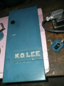 K o Lee Tool Cutter Grinder Door