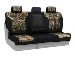 Coverking Realtree Max 5 Camo Rear Seat Covers For 2016 2019 Toyota Tacoma