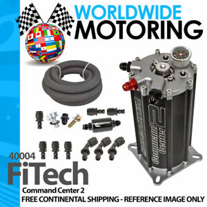 Fitech Fuel Injection Conversion 40004 Go Efi System Fuel Command Center 2
