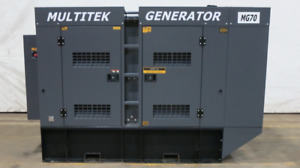 New Multitek 70 Kw Diesel Generator John Deere Epa Tier 3 Engine Csdg 2474
