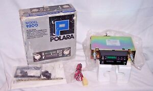 Vintage Kraco Polara 9200 Car Stereo Auto Stop Cassette Tape Player New Am Fm