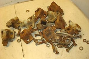 Ford 6000 Tractor Rear Wheel Clamps Hardware